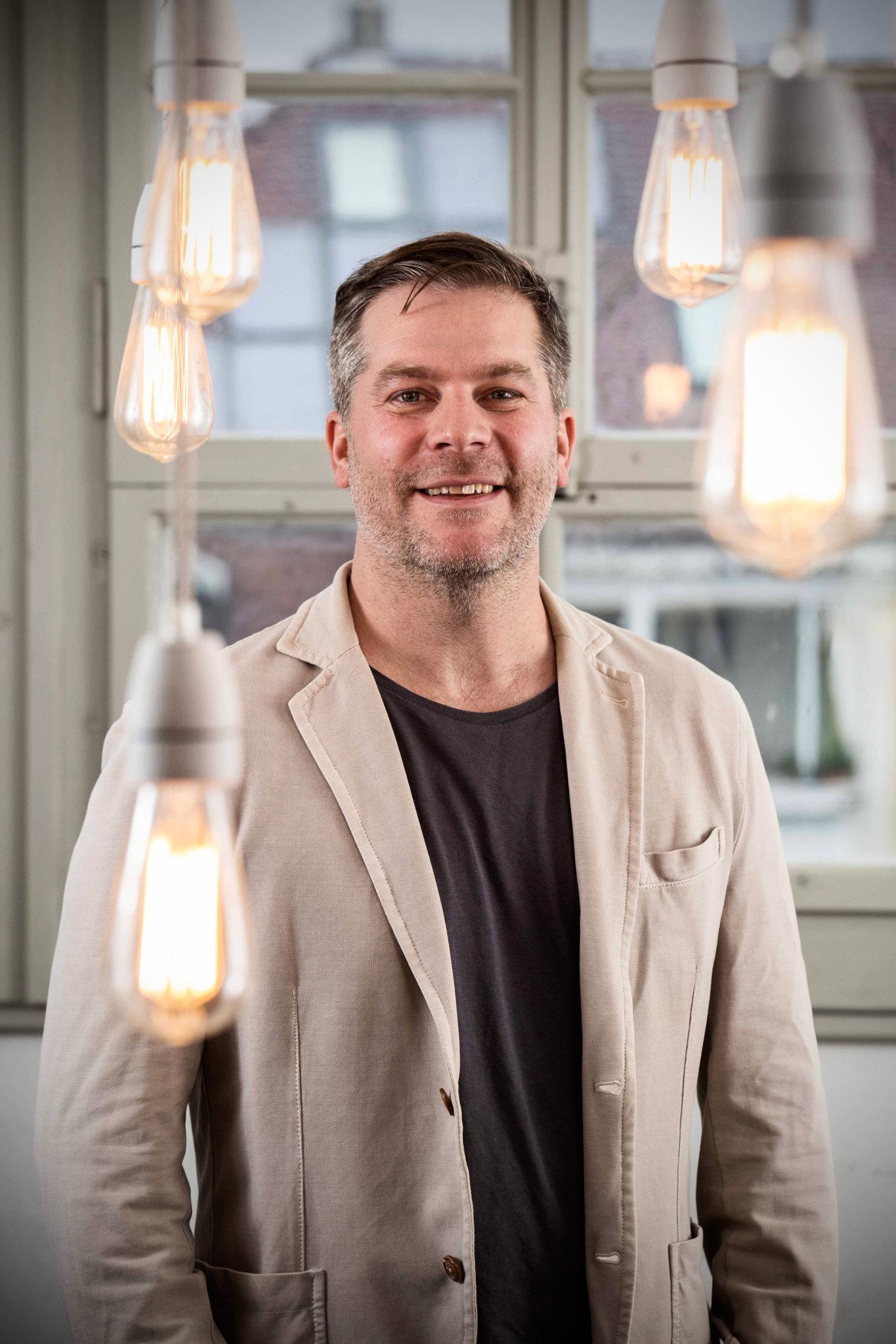 Autor, Filmemacher und Kolumnist Roman Tschäppeler